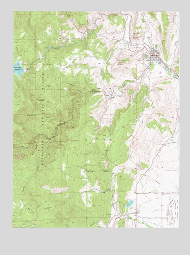 Lyons, CO Topographic Map - TopoQuest on