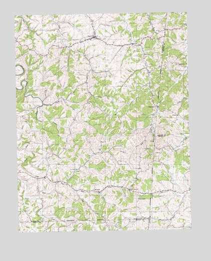Mackville, KY USGS Topographic Map