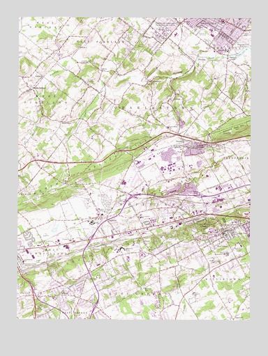 Malvern, PA USGS Topographic Map