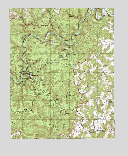 Mammoth Cave KY Topographic Map  TopoQuest