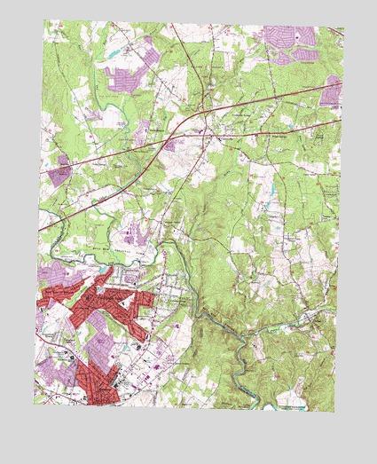 Topography Map Of Virginia.Manassas Va Topographic Map Topoquest