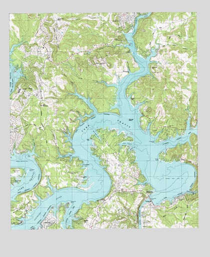Mansfield Dam TX Topographic Map  TopoQuest