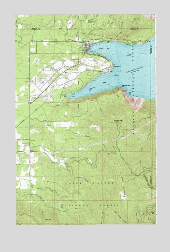 Bayview, ID Topographic Map   TopoQuest