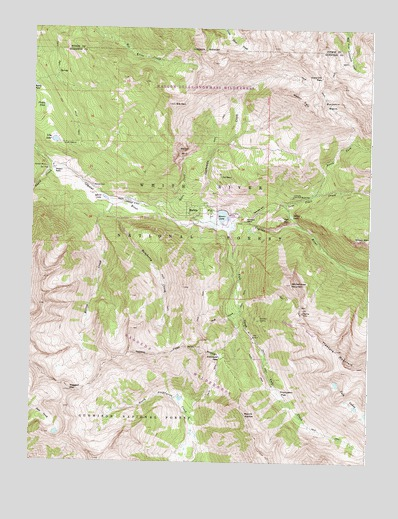 Marble Co Topographic Map Topoquest