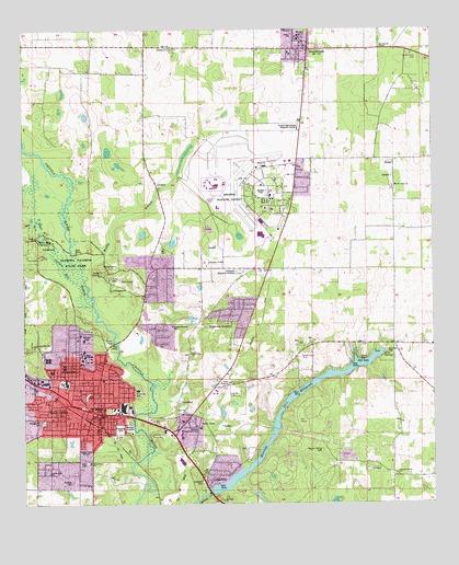 Marianna Fl Topographic Map Topoquest