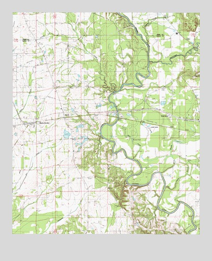 Marion Junction, AL USGS Topographic Map