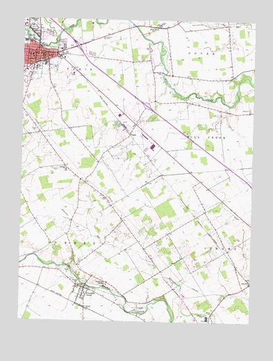 Marysville Oh Topographic Map Topoquest