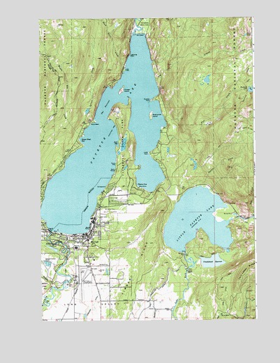 McCall ID Topographic Map  TopoQuest