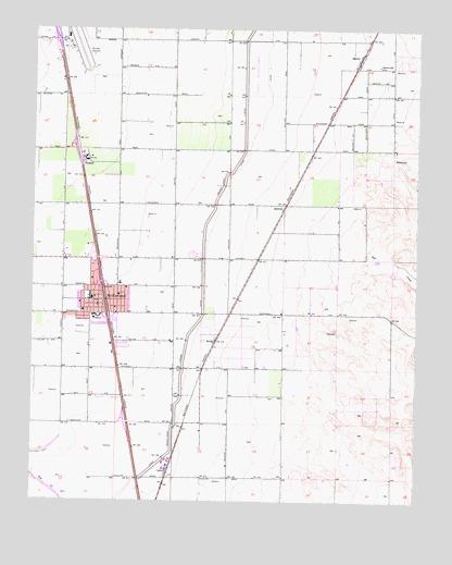 McFarland, CA Topographic Map - TopoQuest