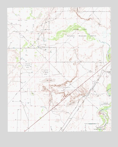Melena, NM USGS Topographic Map