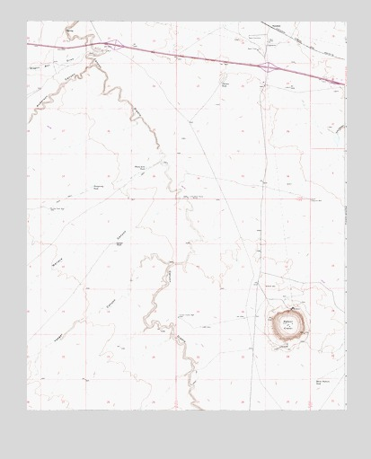 Meteor Crater Arizona Map.Meteor Crater Az Topographic Map Topoquest