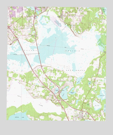 Micanopy Fl Topographic Map Topoquest