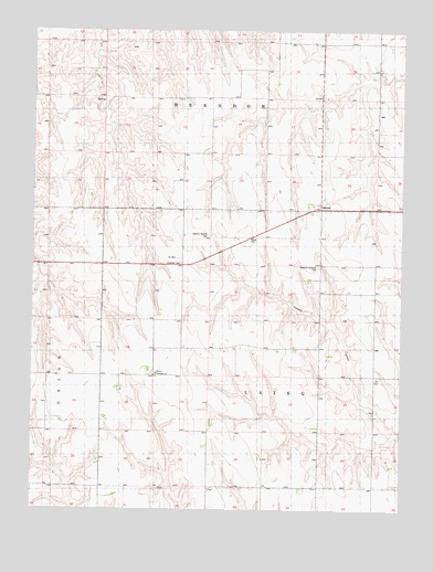 Midway, KS USGS Topographic Map