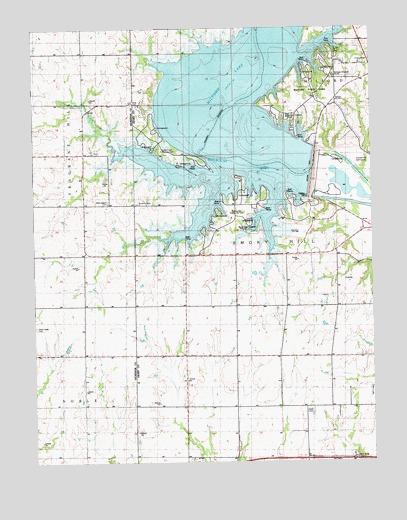 Milford Lake Kansas Map.Milford Dam Ks Topographic Map Topoquest