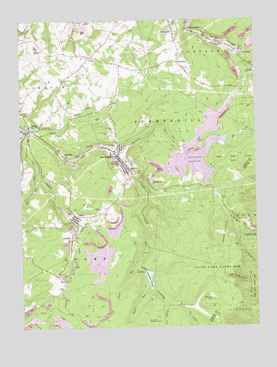 beaverdale pa topographic map topoquest topoquest