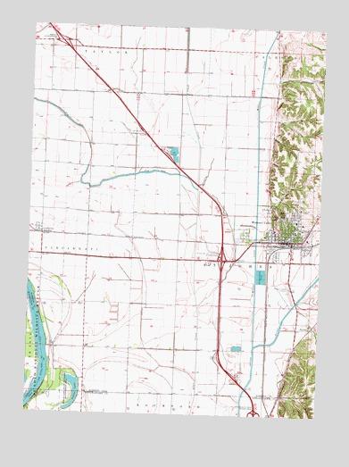 Missouri Valley IA Topographic Map  TopoQuest