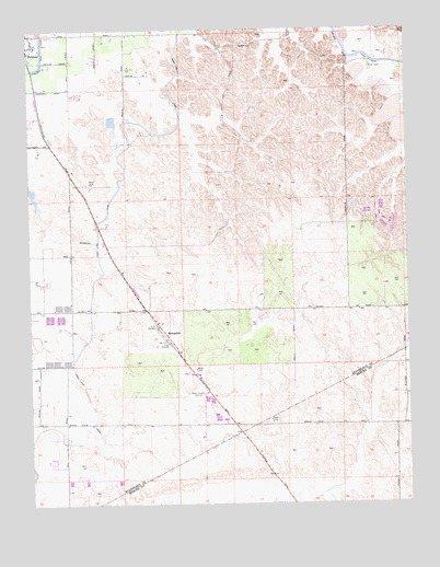 Montpelier, CA USGS Topographic Map