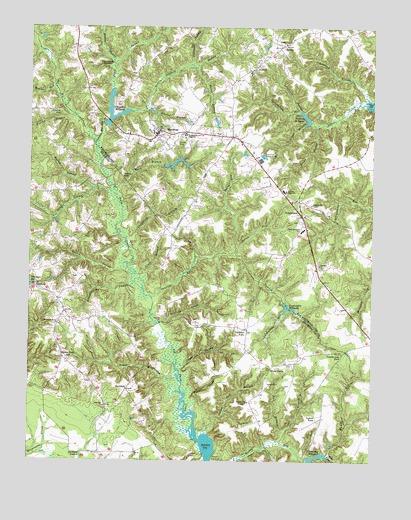 Montross, VA Topographic Map - TopoQuest