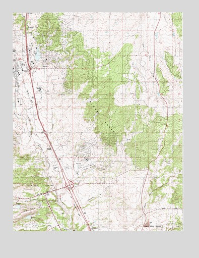 Monument, CO Topographic Map - TopoQuest