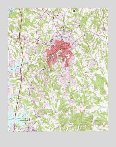 Mooresville, NC USGS Topographic Map