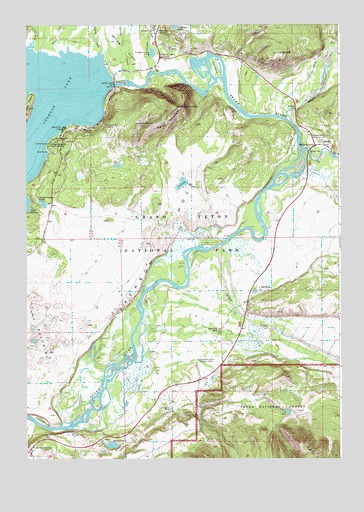 Moran, WY Topographic Map - TopoQuest