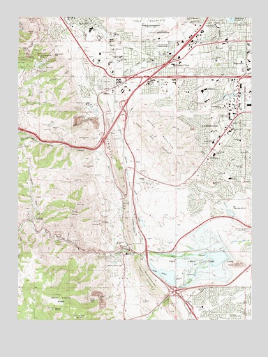 Morrison Colorado Map Morrison, CO Topographic Map   TopoQuest