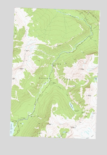 Mount Cannon, MT USGS Topographic Map