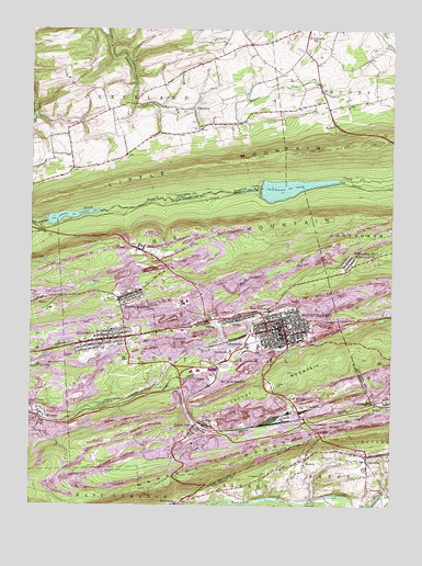 Mount Carmel, PA USGS Topographic Map