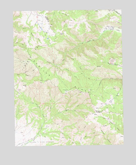 Mount Harlan, CA USGS Topographic Map