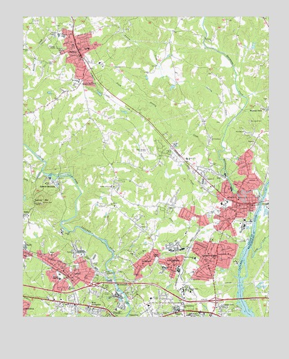 Mount Holly Nc Topographic Map Topoquest