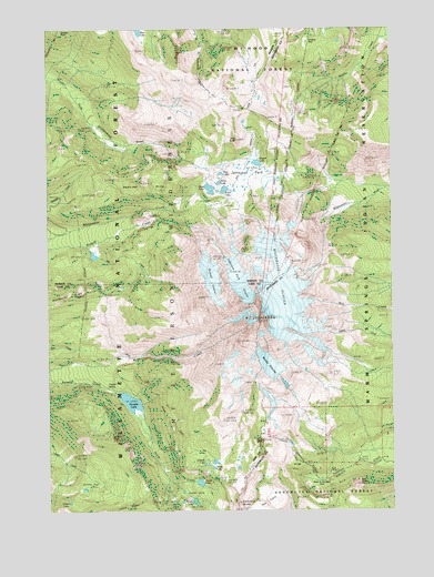 Mount Jefferson Or Topographic Map Topoquest