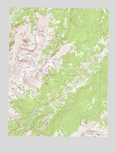 Mount of the Holy Cross, CO Topographic Map - TopoQuest
