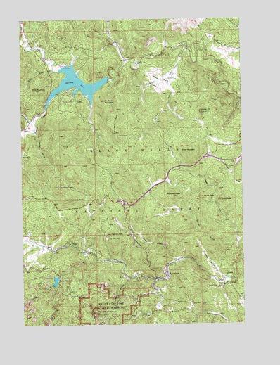 Mount Rushmore SD Topographic Map  TopoQuest