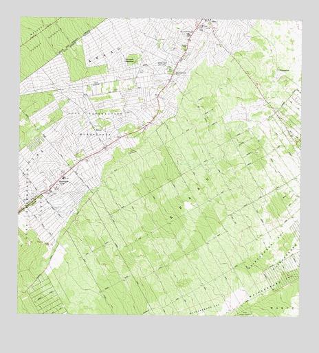 Mountain View, HI Topographic Map - TopoQuest