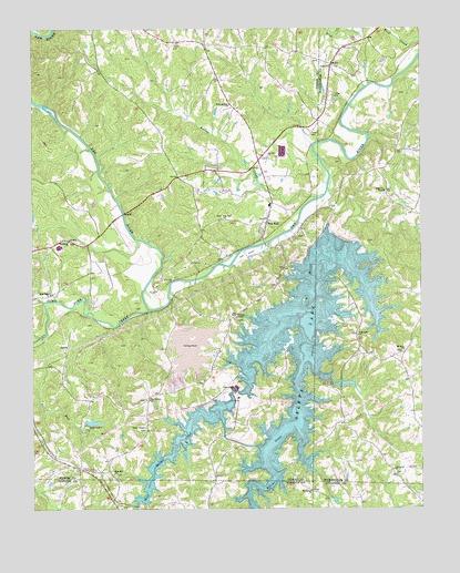 belews creek lake map Belews Lake Nc Topographic Map Topoquest belews creek lake map