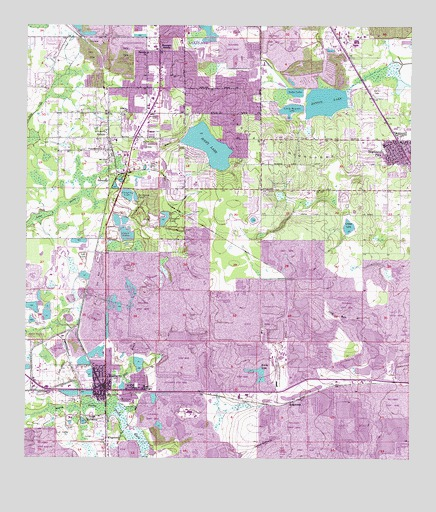 Mulberry Florida Map.Mulberry Fl Topographic Map Topoquest
