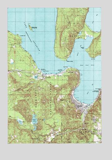 Munising Mi Topographic Map Topoquest