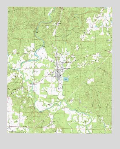 Murfreesboro, AR Topographic Map - TopoQuest