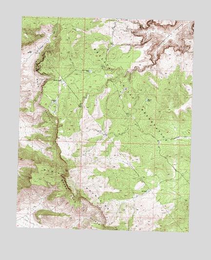 Music Mountains NE, AZ Topographic Map - TopoQuest