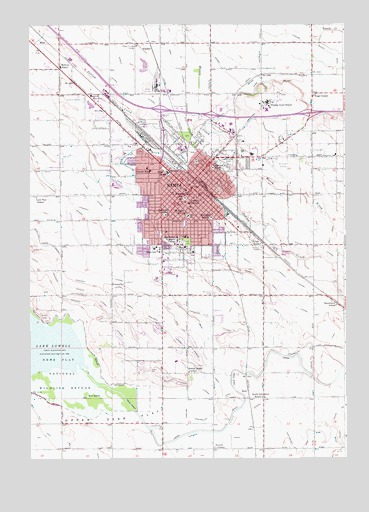 nampa id topographic map topoquest