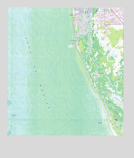 Naples South Fl Topographic Map Topoquest