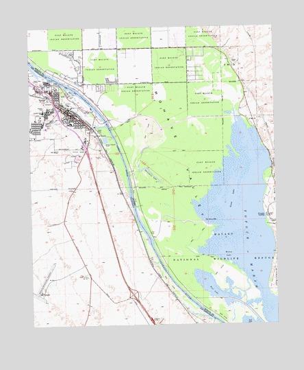 Needles CA Topographic Map  TopoQuest