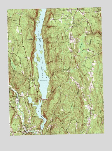 New Hartford, CT Topographic Map - TopoQuest