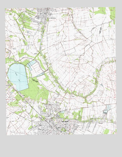 New Iberia Louisiana Map.New Iberia North La Topographic Map Topoquest