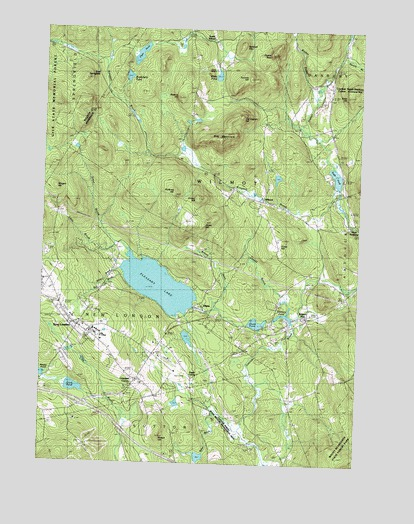 New London, NH USGS Topographic Map
