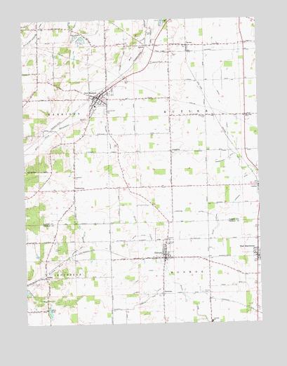 New Madison OH Topographic Map  TopoQuest