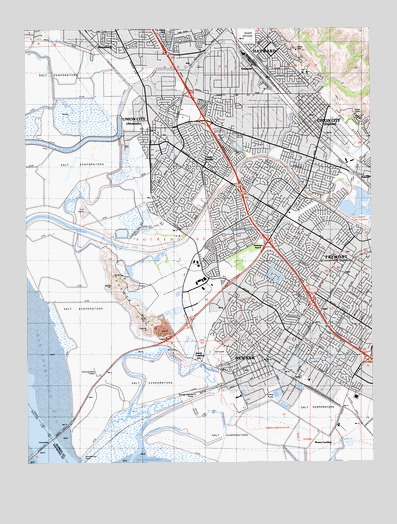 Newark CA Topographic Map  TopoQuest