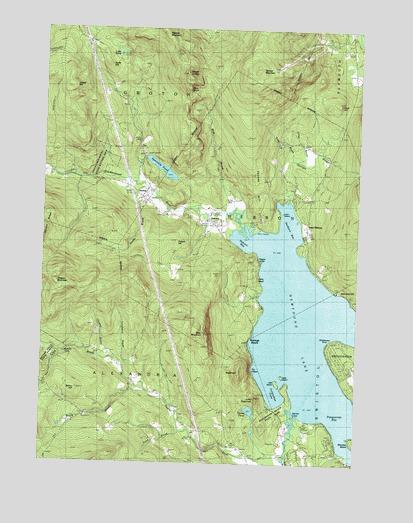 newfound lake nh map Newfound Lake Nh Topographic Map Topoquest newfound lake nh map