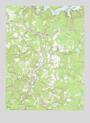 Newfoundland, PA USGS Topographic Map