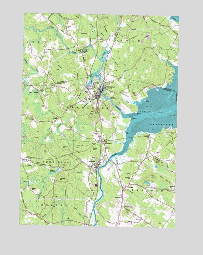 Newmarket, NH USGS Topographic Map